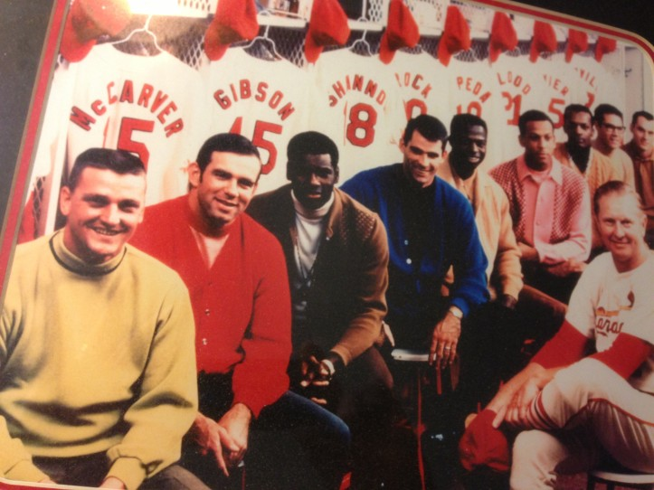 Cardinals Locker Room