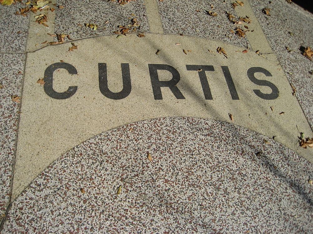 Curtis Sporting Goods Entry Terrazzo