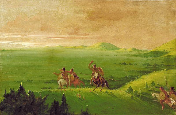 Comanche War Party