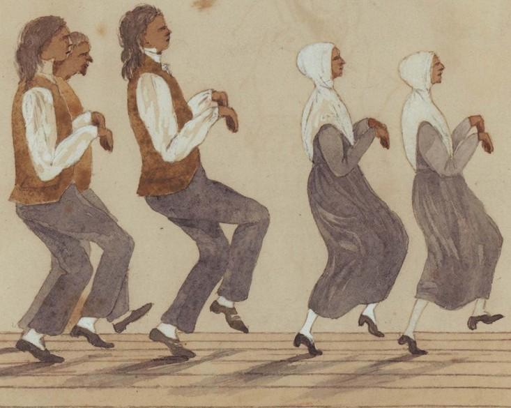 Dancing Quakers