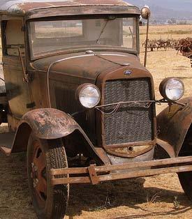 Ford Truck Model A 1931 b