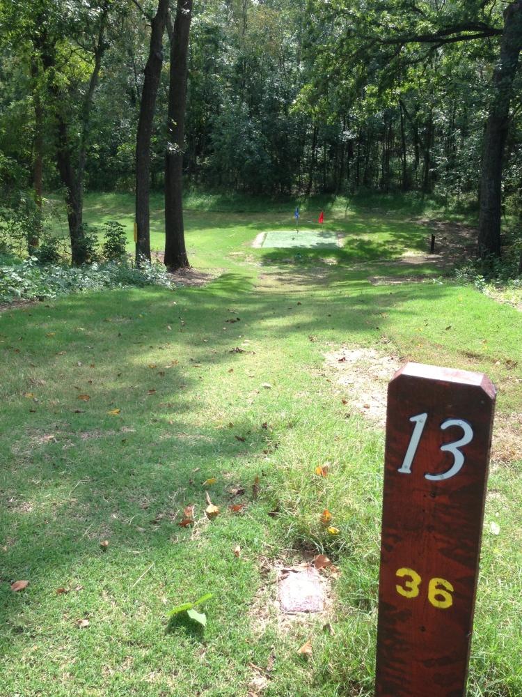 Golf 13 Tee Brae Burn