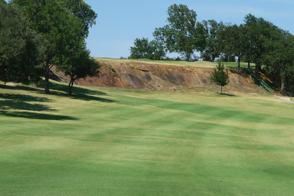 area of the fairway dornick hills country club ardmore oklahoma