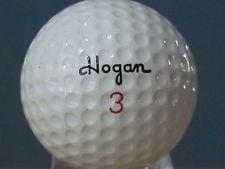 golf hogan balata ball