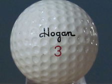 golf hogan balata ball