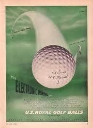 golf royal vintage ball