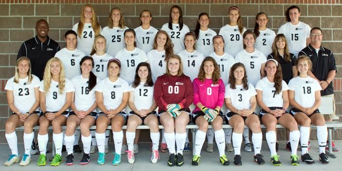 2013 Harding Women's Soccer Team