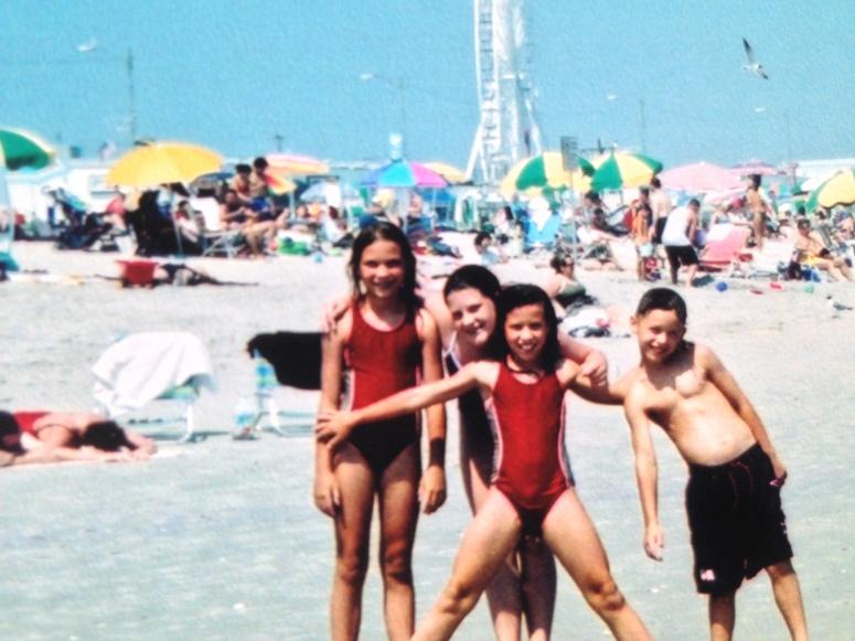 Family Beach w Liz