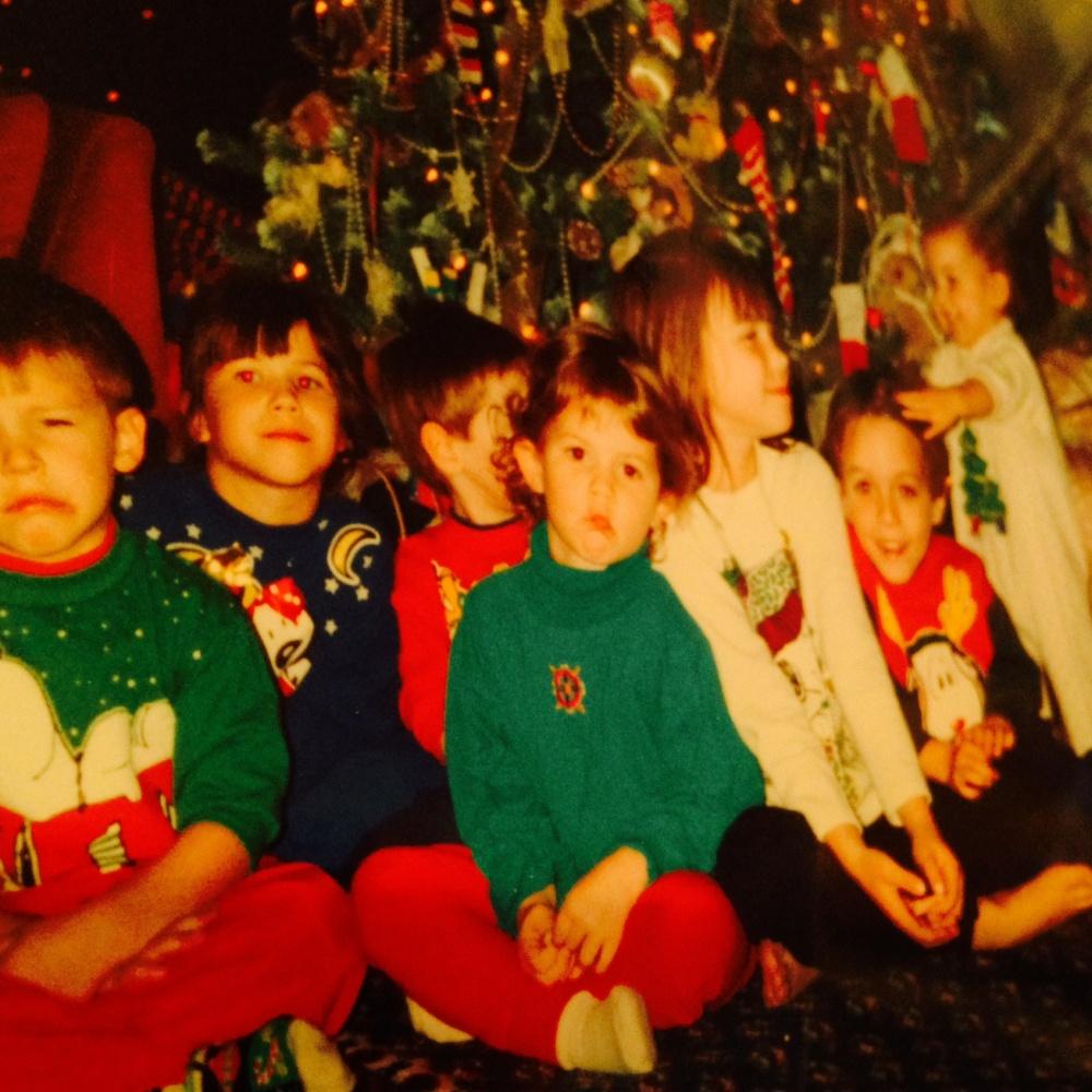 Family Taylor Nieces Nephews Christmas