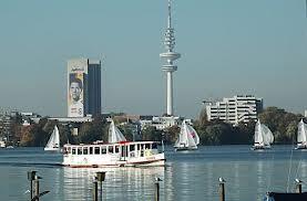 Germany Hamburg Aussenalster Lake