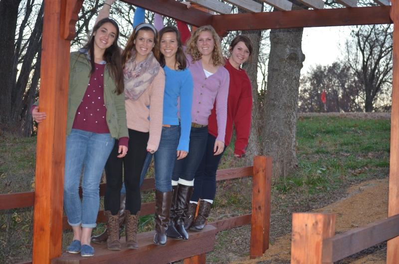 thanksgiving 2013 five girls bridge