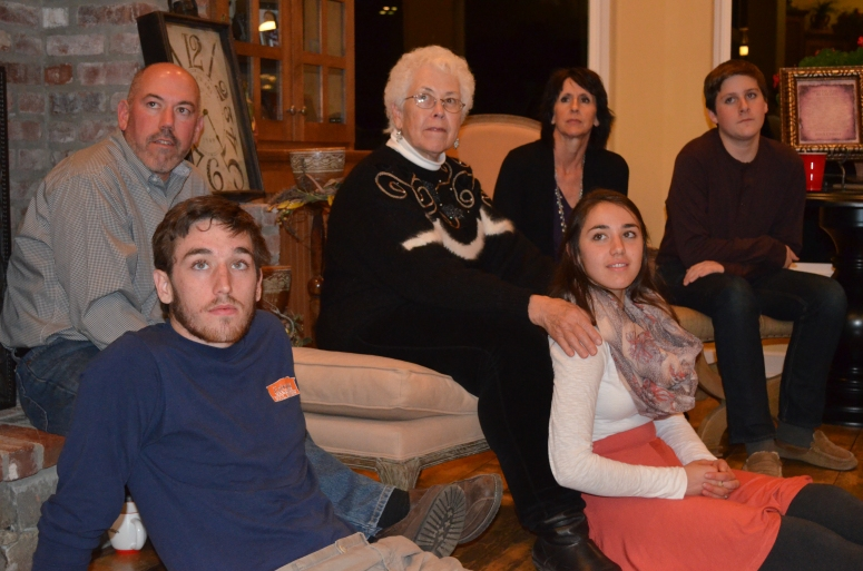 thanksgiving 2013 robyn luke toby david terri emma