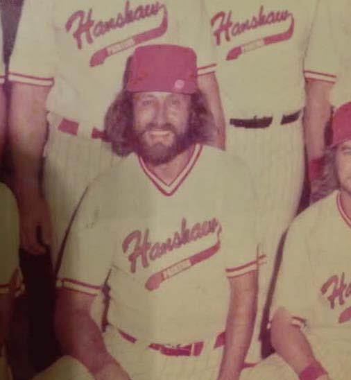 George Johnson Softball 1975b