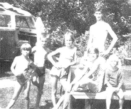 Thom with Family