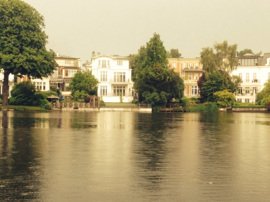 Homes on the Alster River