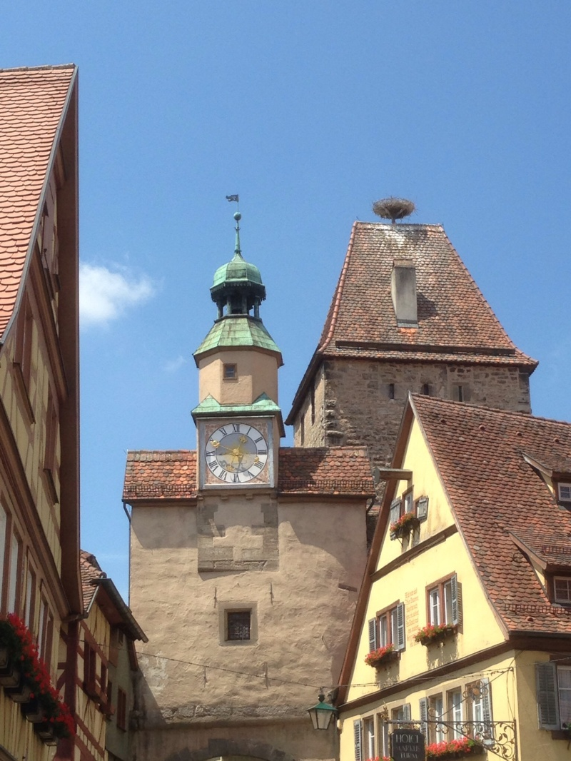 Old city one of many towers a few steps from our front door