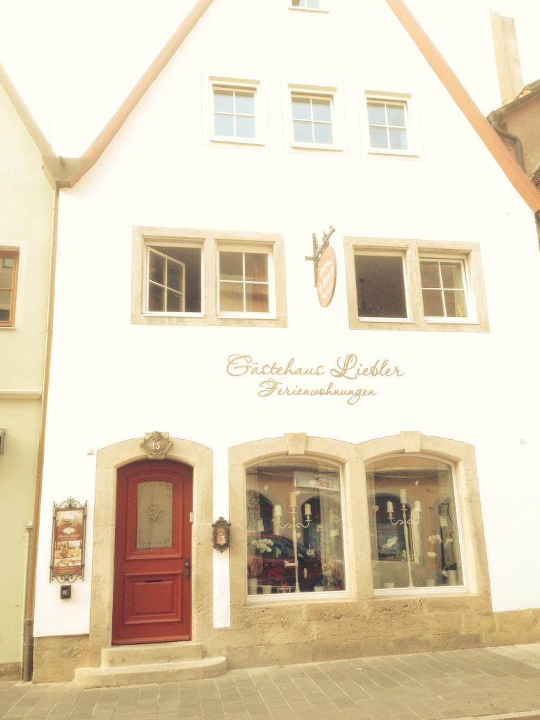 Our place at gastehaus Liebler