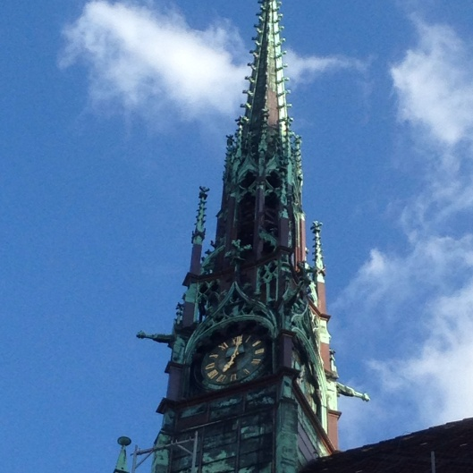 Clock tower of what would become known as Luther's church