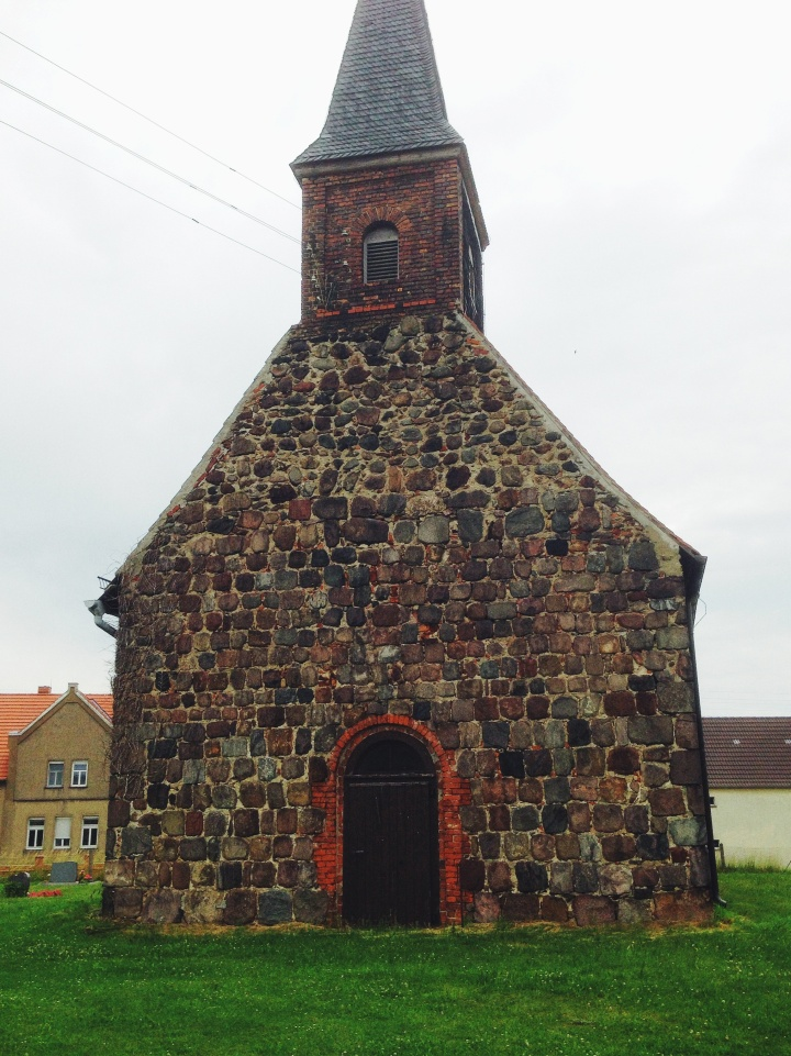 Country church near Potsdam Germany