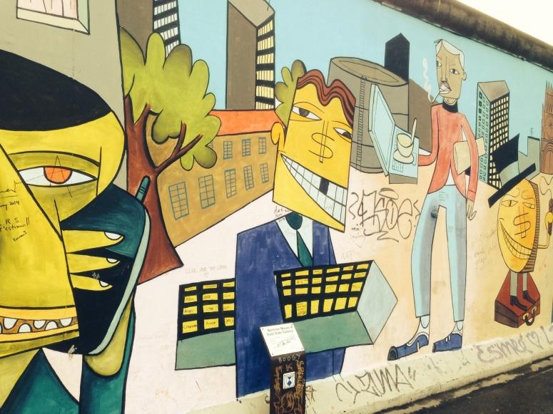 Wall art in Berlin