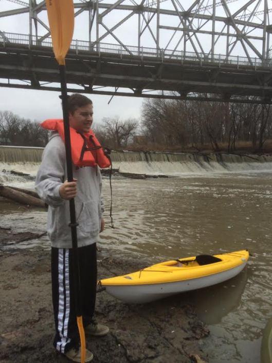Caney Brandon at Cherokee River Bridge Falls
