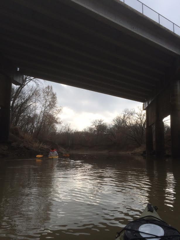 Caney Frank Phillips Bridge Underneath w Brandon