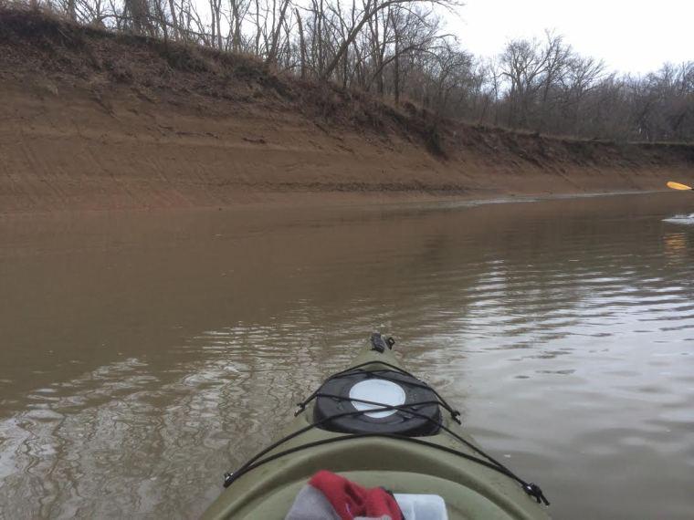 Caney High River Bank