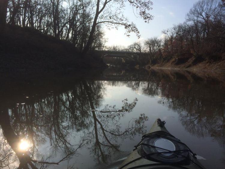 Caney River North of 7th Street Bridge