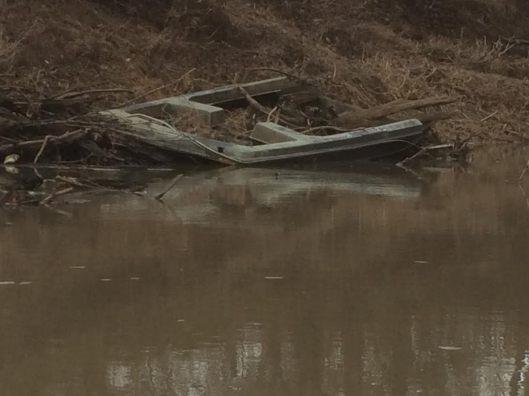 Caney River Old Boat