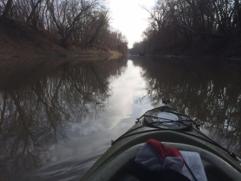 Caney River South of 7th Street Bridge