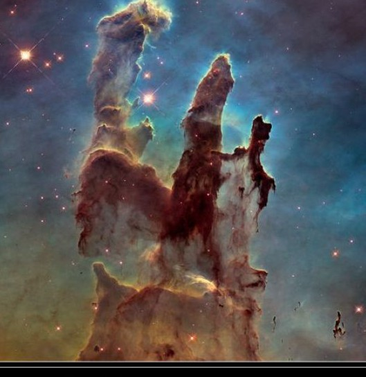 Hubble Eagle Nebula Pillars of Creation