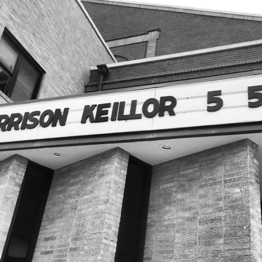 Garrison Keillor May 5 2015