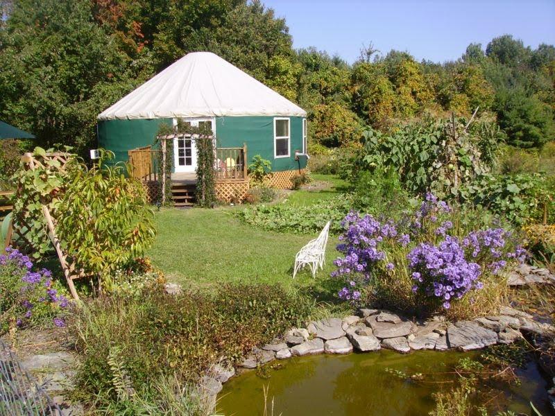 Ithaca yurt