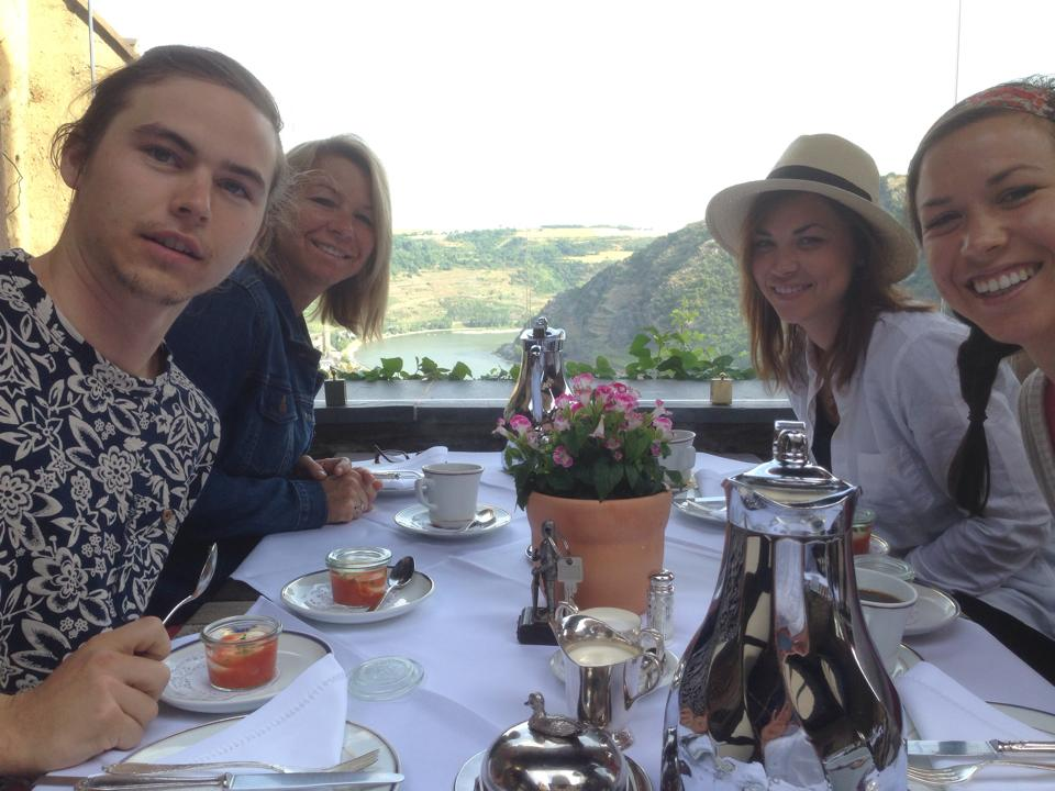Germany Rhine Castle Breakfast
