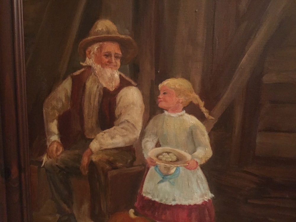 old man & girl kathryn martin