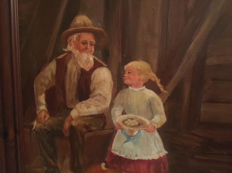 old man & girl kathryn martin