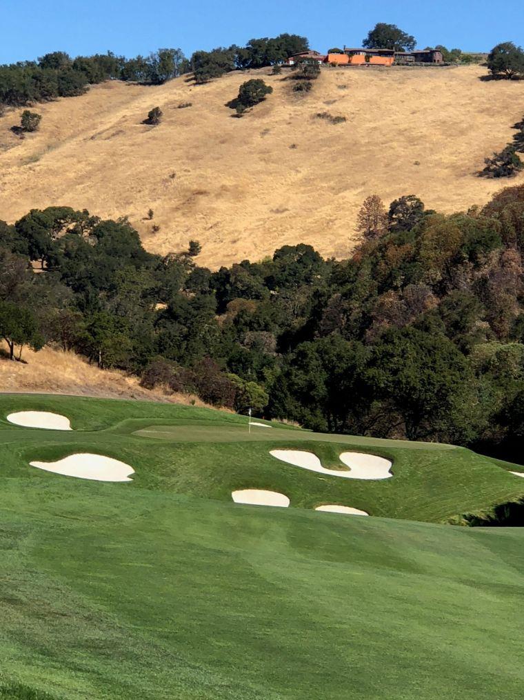 Golf Mayacama hole 2